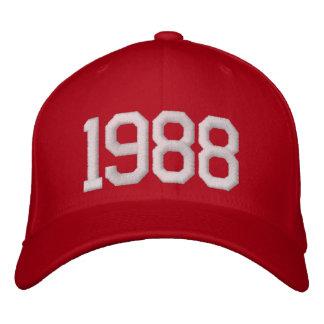 1988年 刺繍入りキャップ