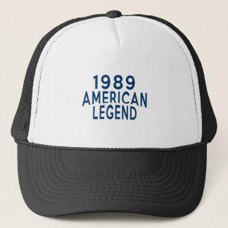 1989のアメリカの伝説の誕生日のデザイン キャップ