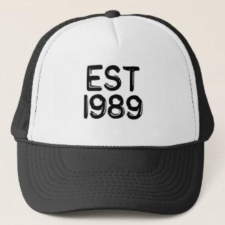 1989年の米国東部標準時刻で1989年生まれて下さい キャップ
