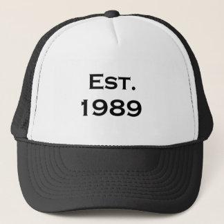 1989年確立される キャップ