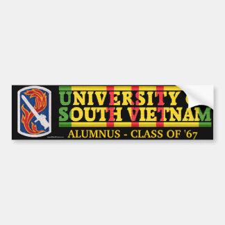 198th解放-南ベトナムの卒業生のステッカーのU バンパーステッカー