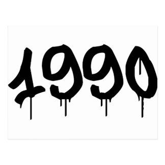 1990年 ポストカード