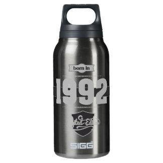 1992年に生まれて下さい(Light&Darkgrey) 断熱ウォーターボトル