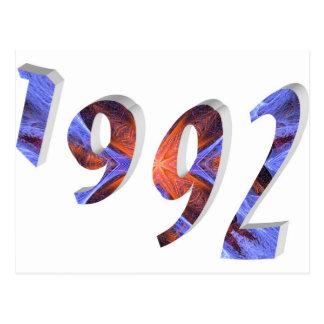 1992年 ポストカード
