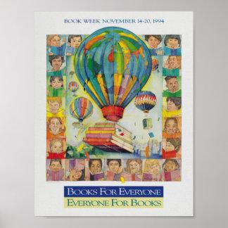 1994人の児童読書週間ポスター ポスター