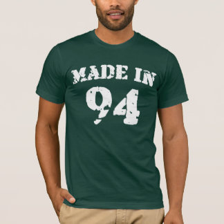1994年のワイシャツで作られる Tシャツ