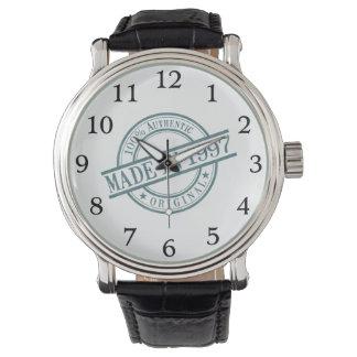 1997年に作られる 腕時計