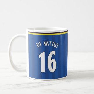 1997-99年チェルシーの家のマグ- DI MATTEO 16の コーヒーマグカップ