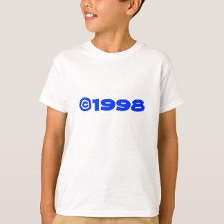 1998 Tシャツは子供の2味方しました Tシャツ