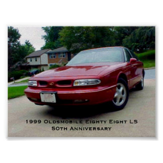 1999年のOldsmobile八十八LS ポスター