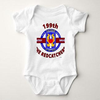 "199TH歩兵の組""REDCATCHERS ""ベトナム ベビーボディスーツ"