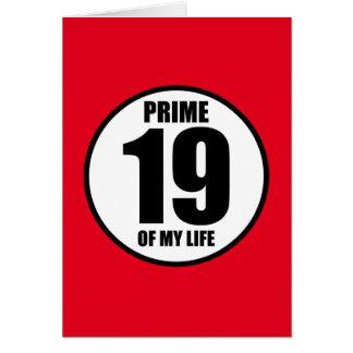 19 -私の生命の全盛 カード