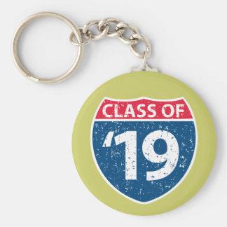 「19 Keychainの州連帯のクラス キーホルダー
