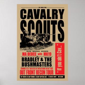 19D Cavの偵察者、コンサートのスタイルポスター ポスター