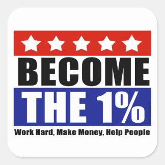 1%なりましたり、ウォールストリートをアンチ占めます スクエアシール