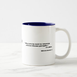 1%のミット ツートーンマグカップ