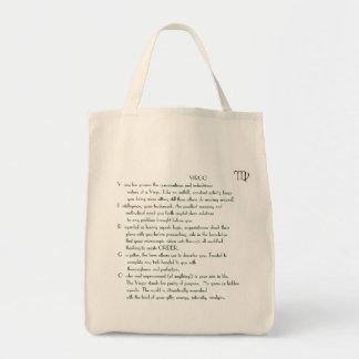 1 《星座》乙女座8月23日-食料雑貨の戦闘状況表示板の9月22日の詩 トートバッグ