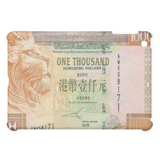 1,000香港ドルのビルのiPadの場合 iPad Miniケース