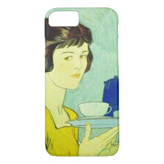 1 1884年の茶 iPhone 8/7ケース