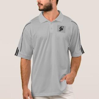 1/2のジッパーのプルオーバーを訓練する男性アディダスClimaLite® ポロシャツ