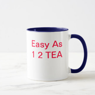 1 2茶として簡単 マグカップ