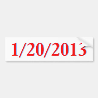 1/20/2013 バンパーステッカー