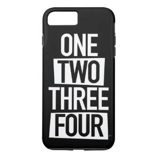 1,2,3,4 (英語) iPhone 8 PLUS/7 PLUSケース