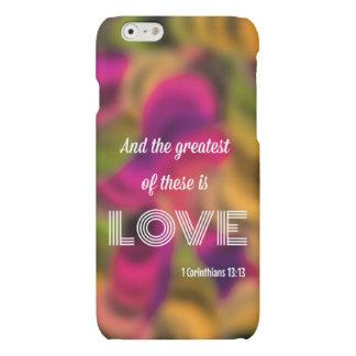 1 Corinthiansの13:13のiPhone6ケース マットiPhone 6ケース