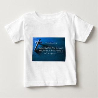 1 Corinthiansの13:4 ベビーTシャツ