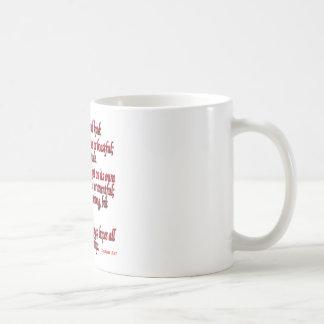 1 Corinthiansの13:4 - 7 コーヒーマグカップ