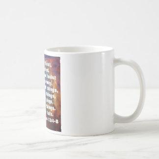 1 Corinthiansの13:4 - 8 コーヒーマグカップ