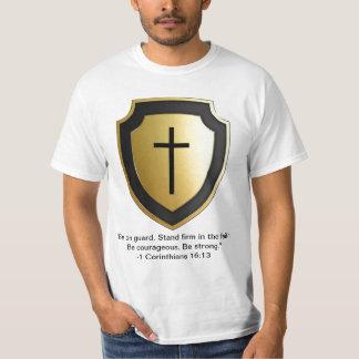 1 Corinthiansの16:13 Tシャツ