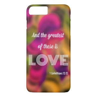 1 Corinthians 13: iPhone 7のプラスの場合 iPhone 8 Plus/7 Plusケース