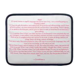 1 Corinthians 13 MacBook スリーブ