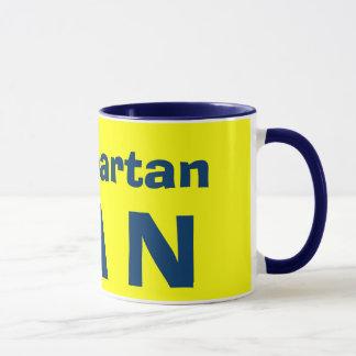 #1 Spartan*ファンのマグ マグカップ