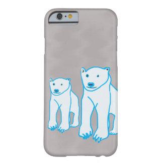 2くまiPhone/iPad/Samsung/Motorollaの業績 Barely There iPhone 6 ケース