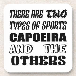 2つのタイプのスポーツがCapoeiraおよび他あります コースター