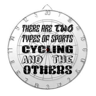 2つのタイプのスポーツの循環および他があります ダーツボード