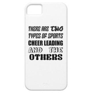 2つのタイプのスポーツの応援の導くことおよびotがあります iPhone SE/5/5s ケース