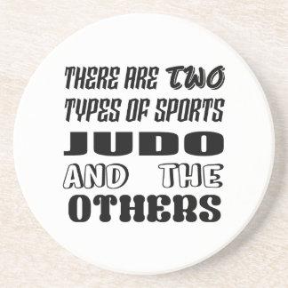 2つのタイプのスポーツの柔道および他があります コースター