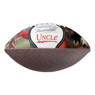 2つの写真- Gift 1人の実際に信じられないい叔父さん--を加えて下さい アメリカンフットボール