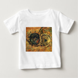 2つの切られたヒマワリの黄色-フィンセント・ファン・ゴッホ ベビーTシャツ