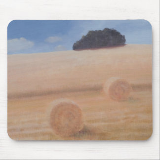 2つの干し草ベール2012年 マウスパッド