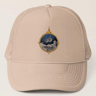 2つの月のコンパスの帽子 キャップ