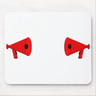 2つの決闘の拡声器 マウスパッド