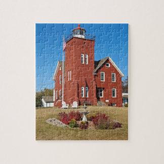 2つの港の灯台 ジグソーパズル