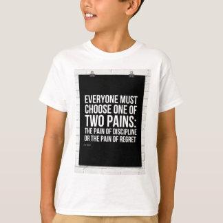 2つの苦痛の選択 Tシャツ