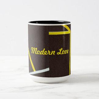 2つの調子のコーヒー・マグのモダン愛 ツートーンマグカップ
