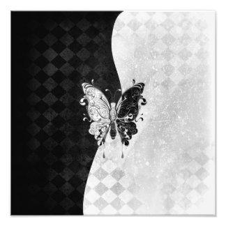 2つの調子の蝶 フォトプリント