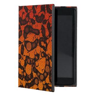 2つの調子の黒く赤いチータ iPad MINI ケース